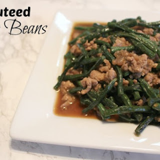 Sauteed String Beans or Ginisang Sitaw