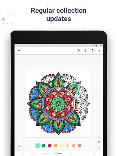 Coloring Book for Me & Mandala