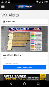KLBK First Warning Weather screenshot 1
