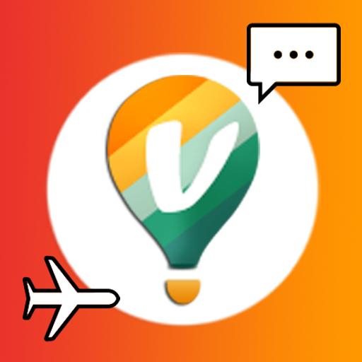 VABA-新しい友達,旅行パノラマ (大会、チャット、旅行) 社交 App LOGO-APP試玩