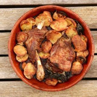 Roasted Potato and Chicken Casserole.