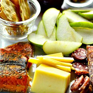 Smoked Salmon Appetizer Platter.