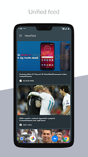 NewsFeed Launcher Screenshot