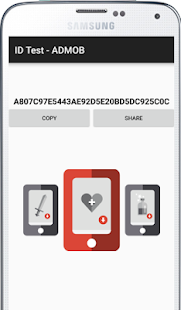 Test ID Device ADMOB Pro - náhled