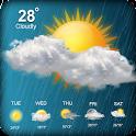Live Rain wheather:Wheather Forecast Report Widget icon