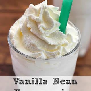 Vanilla Bean Frappuccino | Copycat Starbucks.