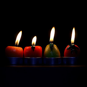 CANDLE by Mohd Norsabree Sailan - Artistic Objects Other Objects ( love, lights, candle, sabreephotograpict, sabree, stilllife, art, dark, fire )