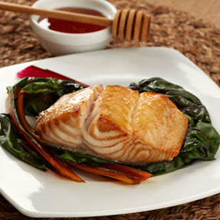 Alaskan Black Cod with Honey Marinade
