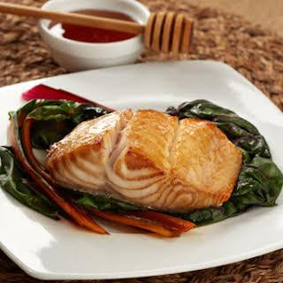 Alaskan Black Cod with Honey Marinade.