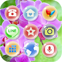 Blossom Orchid Theme icon