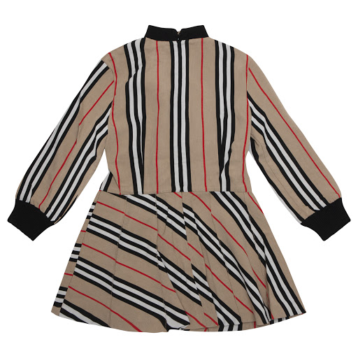 Thumbnail images of Burberry Beige Stripe Dress