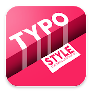 Typo Style - Add text on Pictures, cool fonts
