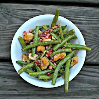 Pomegranate Green Bean Chicken Salad.
