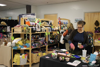 Photo: Kitschy Stitch booth at Delmarva Wool & Fiber Expo 2015 (Fall) | Photograph Copyright Robert J Banach #oceancitycool