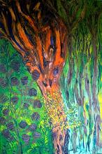 Photo: The Old Tree Medium-Oil Size 100cmx150cm Price $600 Sold