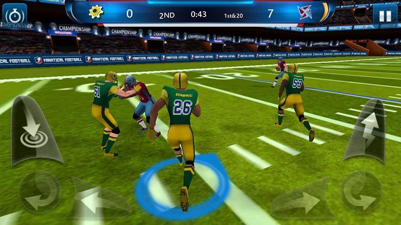 Screenshots of Fanatical Football for iPhone