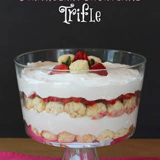 Strawberry Shortcake Trifle.