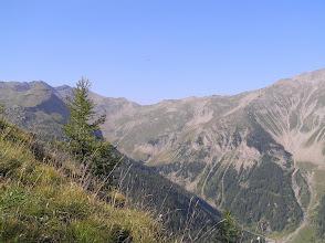Photo: Ascension de l'aiguille d'Orcières, vue sur la vallée (Rouanette)