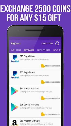 make money paypal cash gift cards by tech2cash bigcash highest