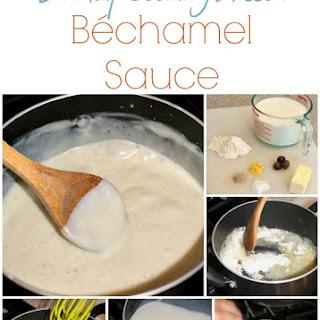 Béchamel Sauce (Easy Version).