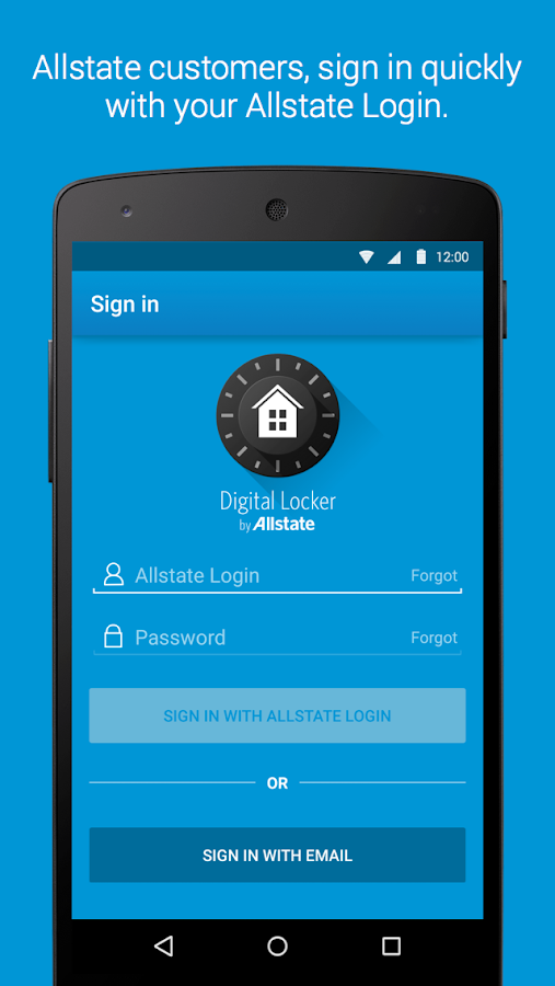 Allstate Digital Locker®- screenshot
