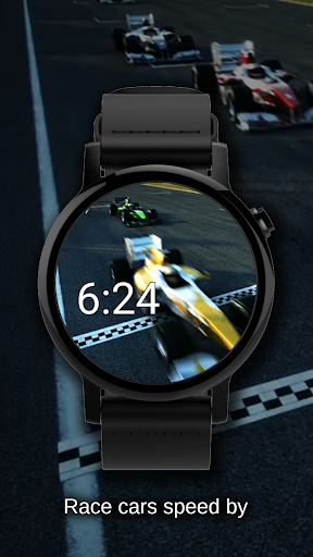 Watch Face Race Cars Wallpaper Aplicaciones (apk) descarga gratuita para Android/PC/Windows screenshot