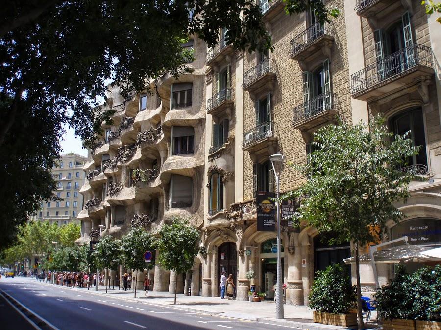 Льорет-де-Мар - Тосса-де-Мар - Барселона. Август 2012.
