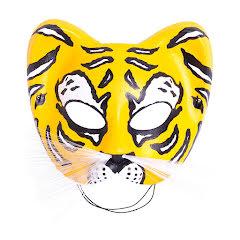 Ögonmask, Tiger