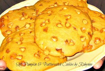 Soft Pumpkin & Butterscotch Cookies~robynne Recipe