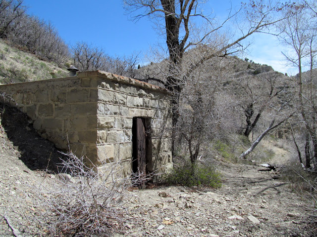 Explosives bunker along Ford Creek