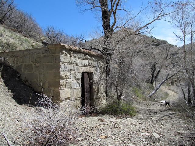 Explosives bunker along Ford Creek