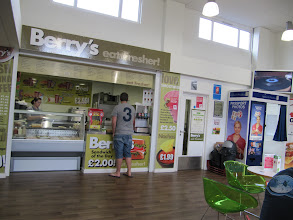 Photo: One of the places to buy food in the Student Union, St. John's campus