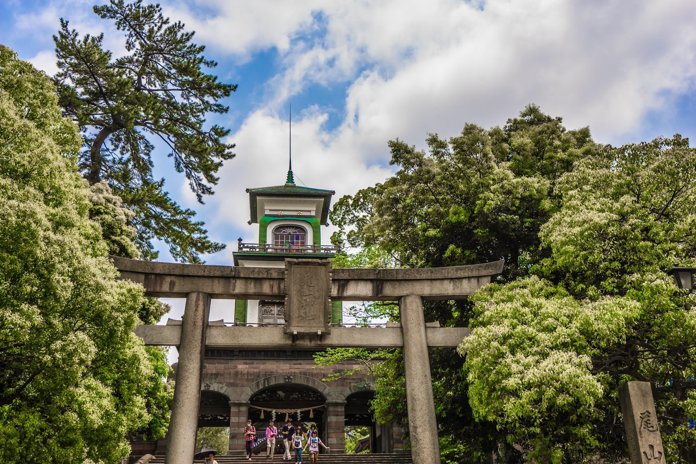 金沢 尾山神社1