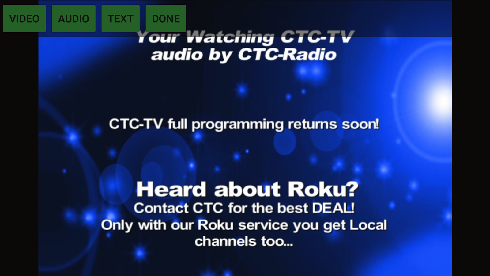 CTC- screenshot