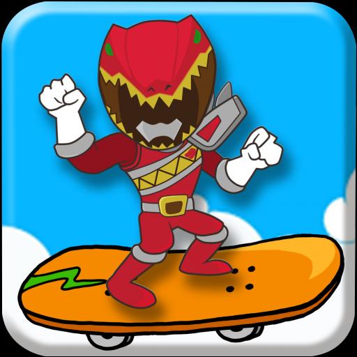 Red Super Hero Skater