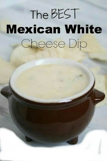 White cheese dip like you get at the Mexican restaurant, Finally!