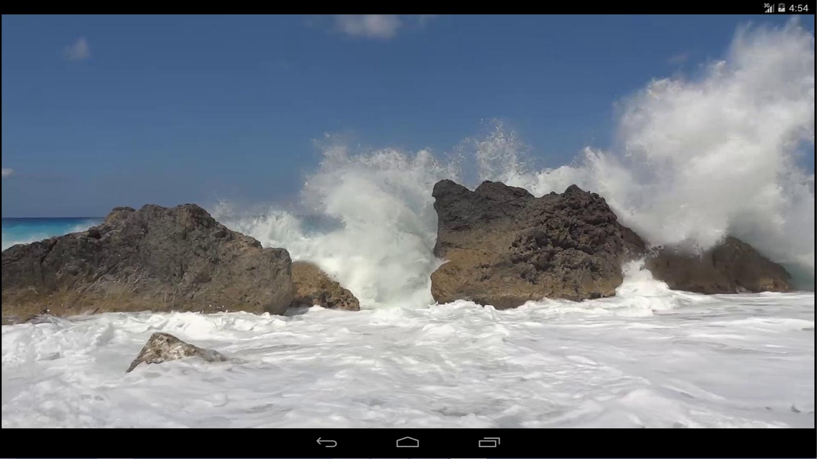 Ωκεανός Ζωντανή Ταπετσαρία - screenshot