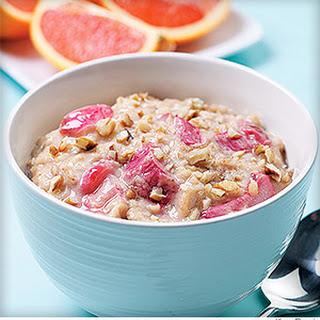 Oatmeal-Rhubarb Porridge Recipe