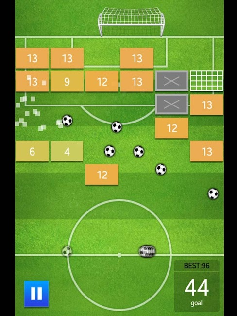 #8. Soccer Brick Game (Android)