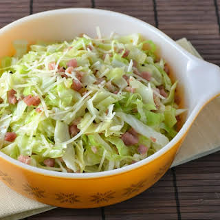 Pan Fried Cabbage with Pancetta.