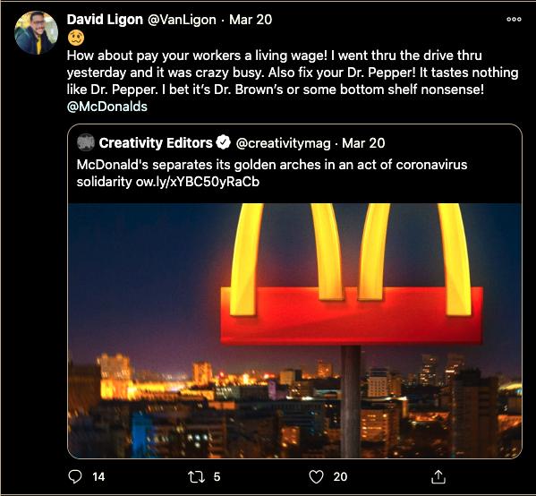 Mcdonalds bad ads brand failures of 2020 wtf mcdonalds