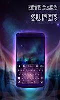 Screenshot of Super Galaxy Keyboard