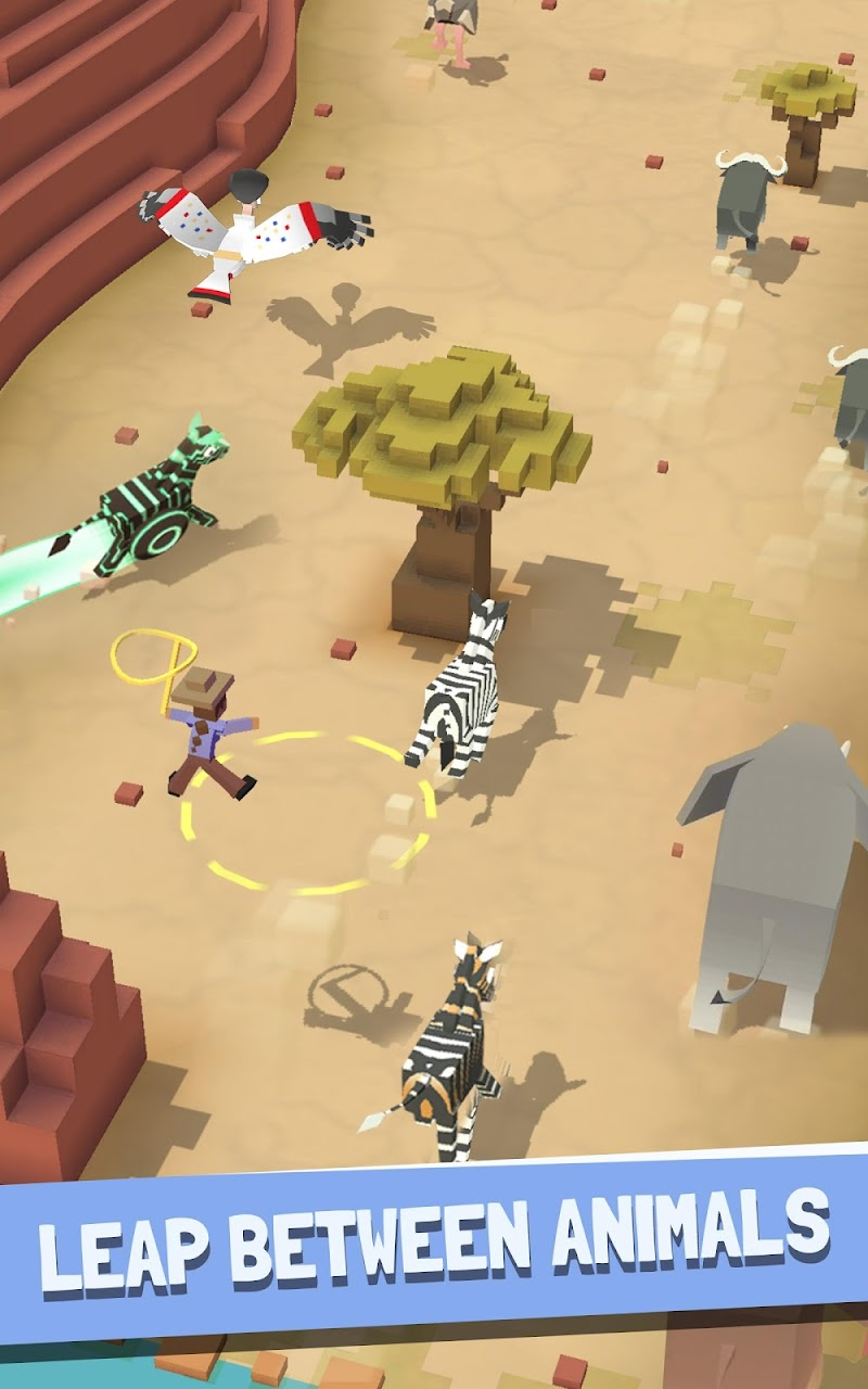 Rodeo Stampede:Sky Zoo Safari Screenshot 9