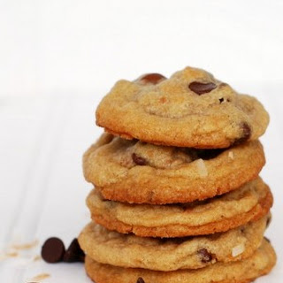 Toasted Coconut Chocolate Chip Cookies
