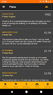 RunPlan: Training Plans | Running 5k to Marathon Screenshot