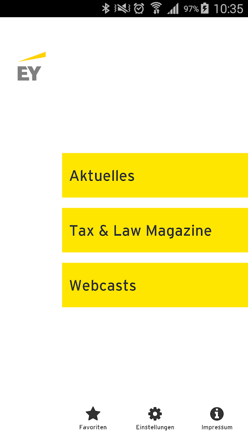 EY Tax & Law DE News- screenshot