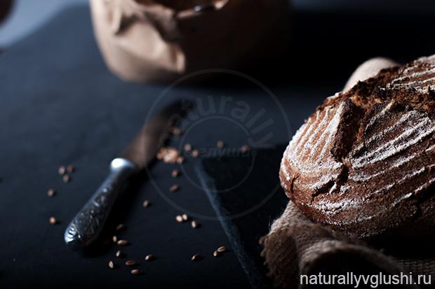пшеничный цельнозерновой хлеб на закваске | Блог Naturally в глуши