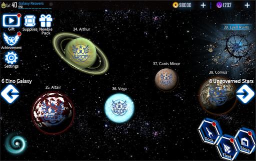 Galaxy Reavers - Starships RTS 1.2.19 androidappsheaven.com 8