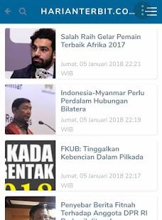 Harian Terbit : Koran Rakyat - náhled