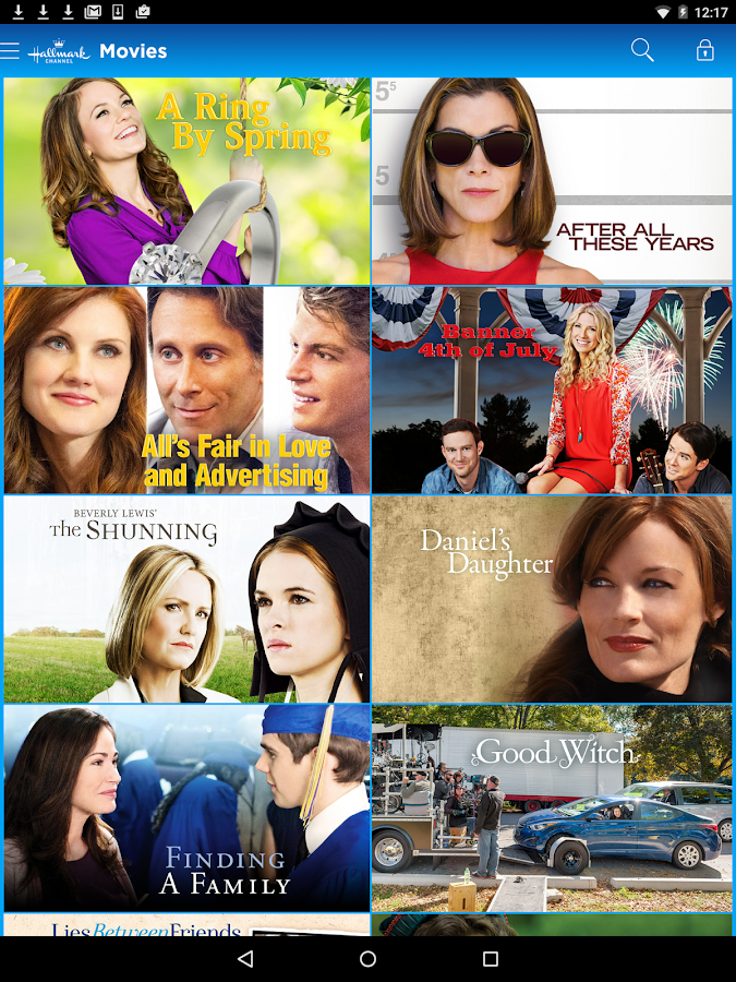 Hallmark Channel Everywhere- screenshot